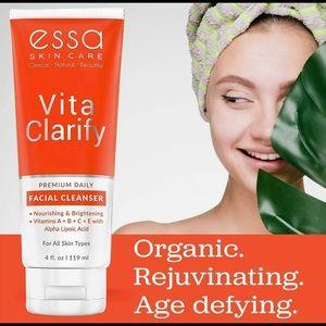 New Anti-aging Exfoliating Organic Facial Cleanser